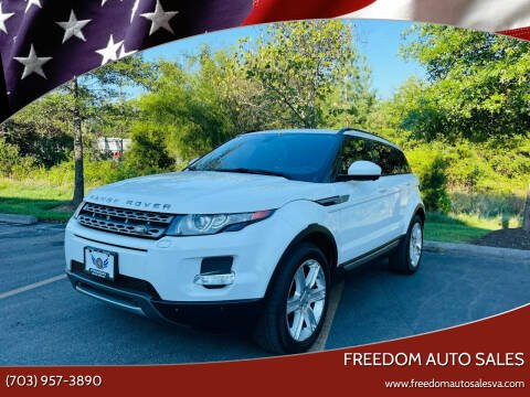 2014 Land Rover Range Rover Evoque for sale at Freedom Auto Sales in Chantilly VA