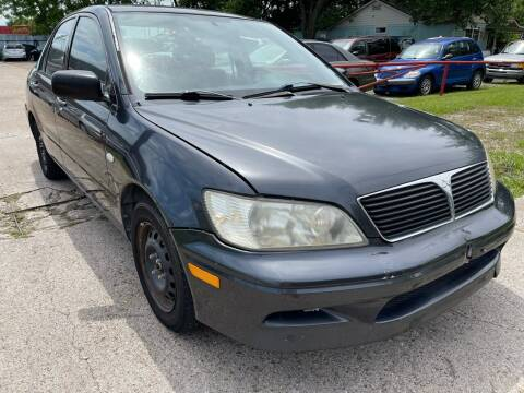 2003 Mitsubishi Lancer for sale at Texas Select Autos LLC in Mckinney TX