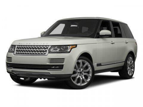 2015 Land Rover Range Rover for sale at Mercedes-Benz of Daytona Beach in Daytona Beach FL
