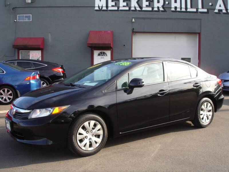 2012 Honda Civic for sale at Meeker Hill Auto Sales in Germantown WI