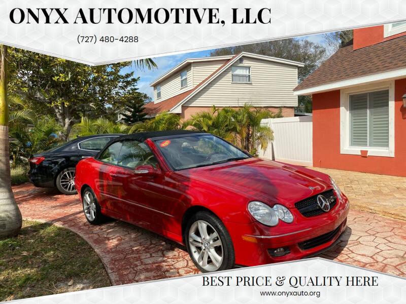 2009 Mercedes-Benz CLK for sale at ONYX AUTOMOTIVE, LLC in Largo FL
