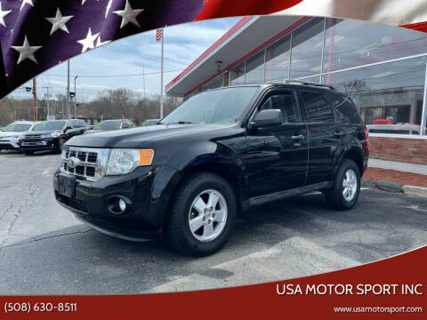 2010 Ford Escape for sale at USA Motor Sport inc in Marlborough MA