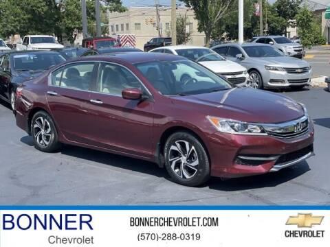 2016 Honda Accord for sale at Bonner Chevrolet in Kingston PA