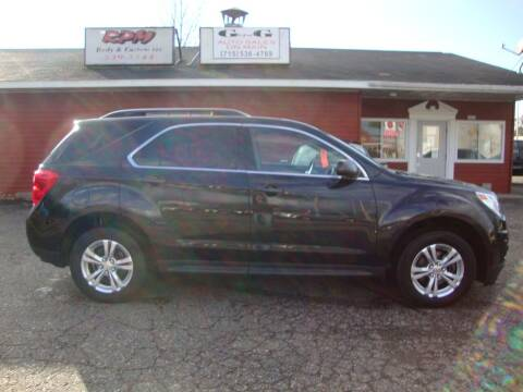 2012 Chevrolet Equinox for sale at G and G AUTO SALES in Merrill WI