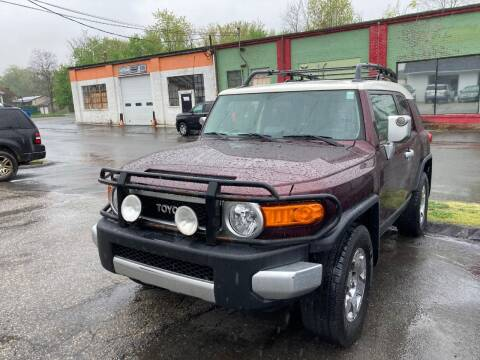 2007 Toyota FJ Cruiser for sale at ENFIELD STREET AUTO SALES in Enfield CT