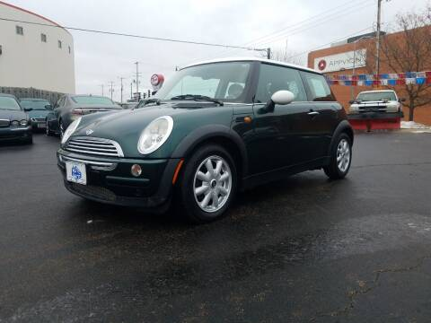2003 MINI Cooper for sale at THE AUTO SHOP ltd in Appleton WI