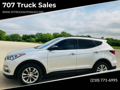 2017 Hyundai Santa Fe Sport for sale at 707 Truck Sales in San Antonio TX