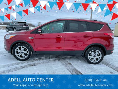 2014 Ford Escape for sale at ADELL AUTO CENTER in Waldo WI