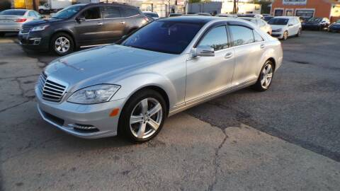 2011 Mercedes-Benz S-Class for sale at Unlimited Auto Sales in Upper Marlboro MD