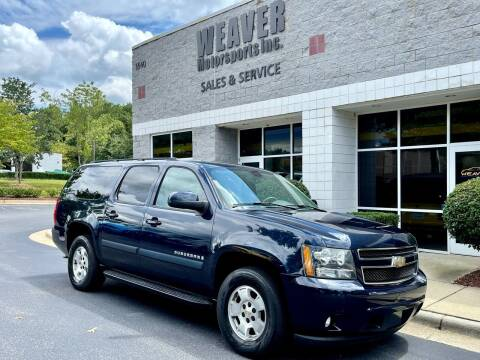 2008 Chevrolet Suburban for sale at Weaver Motorsports Inc in Cary NC
