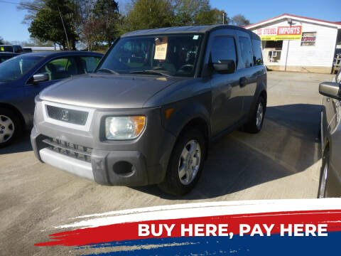 2004 Honda Element for sale at Ed Steibel Imports in Shelby NC