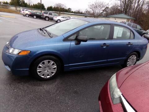 2010 Honda Civic for sale at Creech Auto Sales in Garner NC