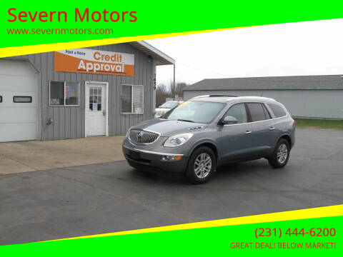 2008 Buick Enclave for sale at Severn Motors in Cadillac MI