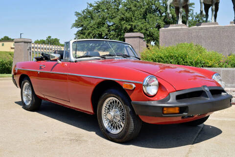 1977 MG MGB for sale at European Motor Cars LTD in Fort Worth TX