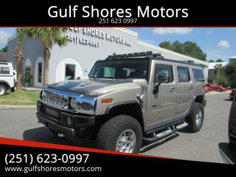 2003 HUMMER H2 for sale at Gulf Shores Motors in Gulf Shores AL