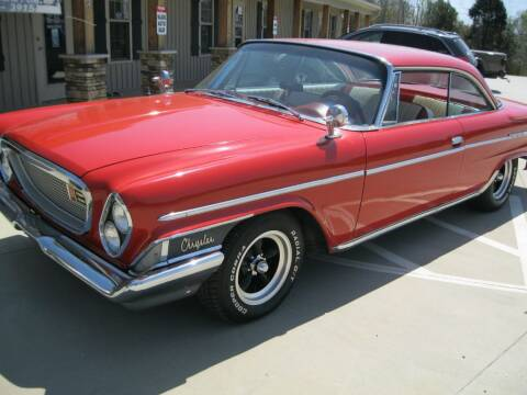 1962 Chrysler Newport for sale at WALLBURG AUTO SALES LLC in Winston Salem NC