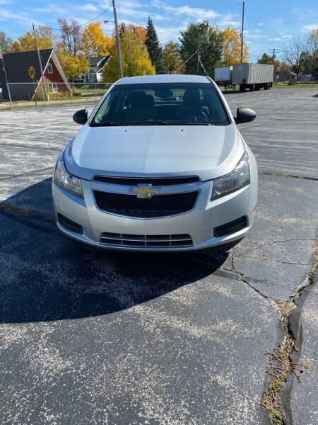 2012 Chevrolet Cruze for sale at SVS Motors in Mount Morris MI