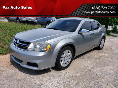 2011 Dodge Avenger for sale at Par Auto Sales in Lenoir NC