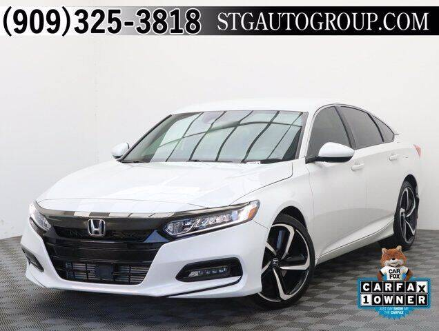 2019 Honda Accord for sale at STG Auto Group in Montclair CA