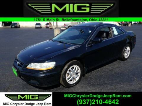 2002 Honda Accord for sale at MIG Chrysler Dodge Jeep Ram in Bellefontaine OH