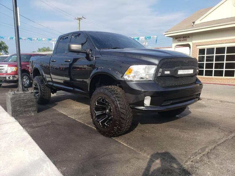 2018 RAM Ram Pickup 1500 for sale at Messick's Auto Sales in Salisbury MD