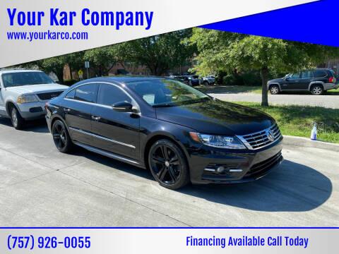 2015 Volkswagen CC for sale at Your Kar Company in Norfolk VA