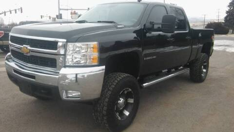 2008 Chevrolet Silverado 2500HD for sale at Motor City Idaho in Pocatello ID
