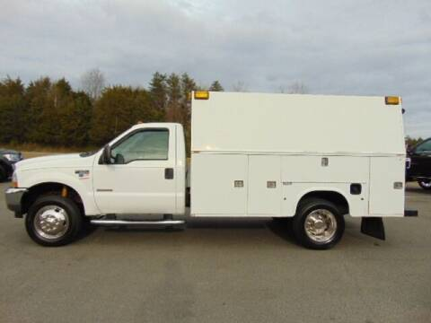 2004 Ford F-550 Super Duty for sale at E & M AUTO SALES in Locust Grove VA