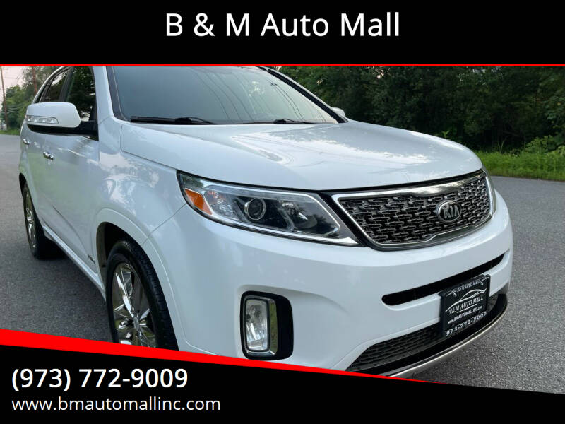 2014 Kia Sorento for sale at B & M Auto Mall in Clifton NJ