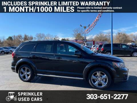 2016 Dodge Journey for sale at Sprinkler Used Cars in Longmont CO