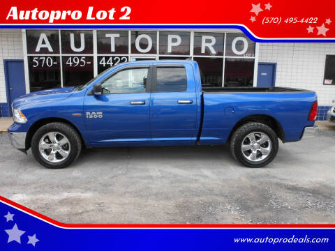 2017 RAM Ram Pickup 1500 for sale at Autopro Lot 2 in Sunbury PA