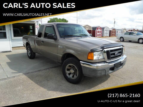 2004 Ford Ranger for sale at CARL'S AUTO SALES in Boody IL