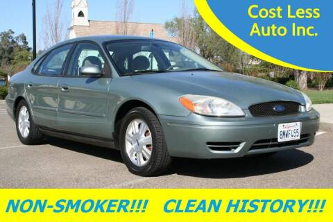 2007 Ford Taurus for sale at Cost Less Auto Inc. in Rocklin CA