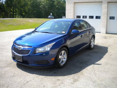 2012 Chevrolet Cruze for sale at Route 111 Auto Sales in Hampstead NH
