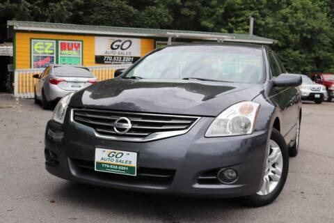 2012 Nissan Altima for sale at Go Auto Sales in Gainesville GA