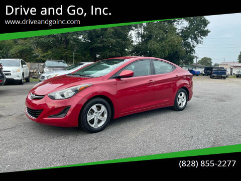 2014 Hyundai Elantra for sale at Drive and Go, Inc. in Hickory NC