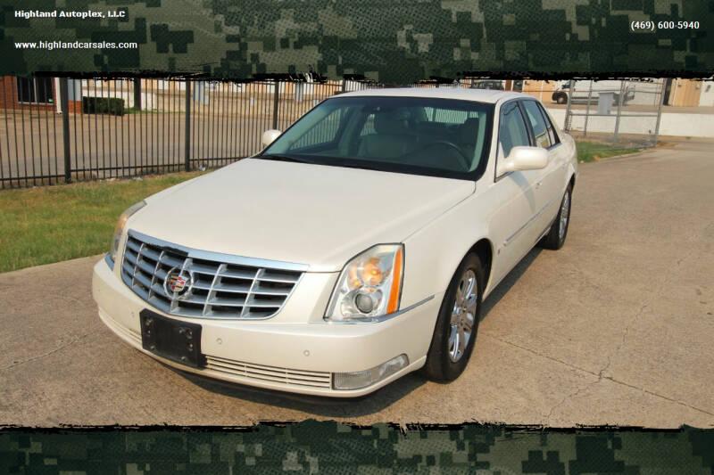 2008 Cadillac DTS for sale at Highland Autoplex, LLC in Dallas TX
