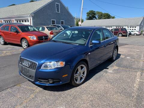 2008 Audi A4 for sale at MBM Auto Sales and Service in East Sandwich MA