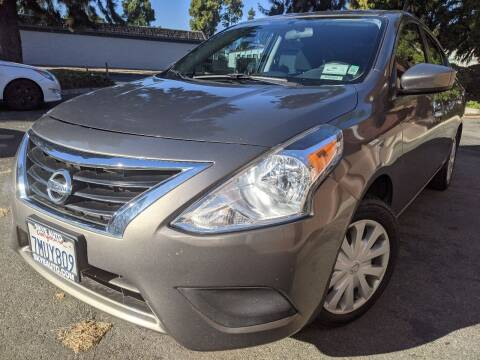 2015 Nissan Versa for sale at Skye Auto in Fremont CA