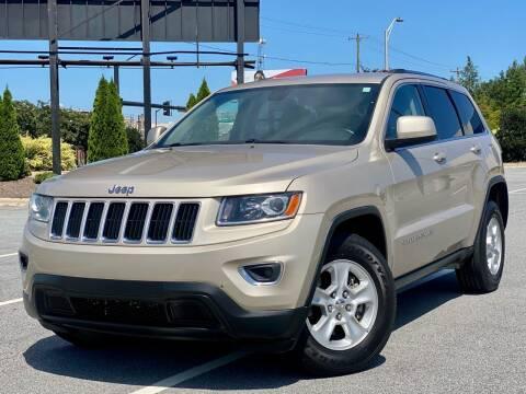 2014 Jeep Grand Cherokee for sale at Sebar Inc. in Greensboro NC
