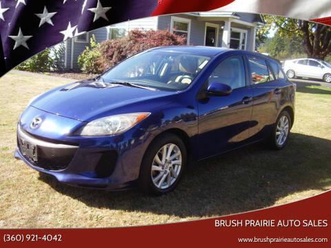 2012 Mazda MAZDA3 for sale at Brush Prairie Auto Sales in Battle Ground WA