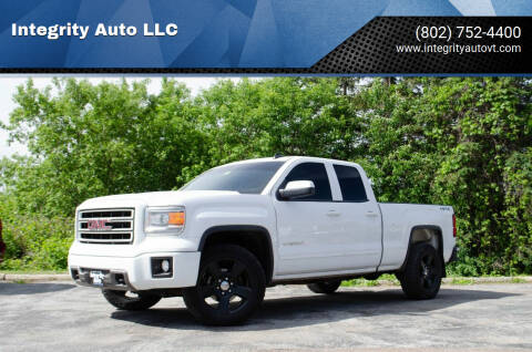 2015 GMC Sierra 1500 for sale at Integrity Auto LLC - Integrity Auto 2.0 in St. Albans VT