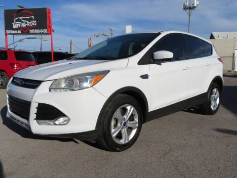 2015 Ford Escape for sale at Moving Rides in El Paso TX