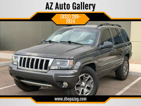 2004 Jeep Grand Cherokee for sale at AZ Auto Gallery in Mesa AZ