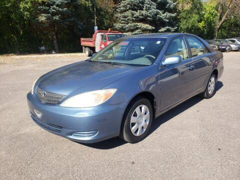 2004 Toyota Camry for sale at Fleet Automotive LLC in Maplewood MN