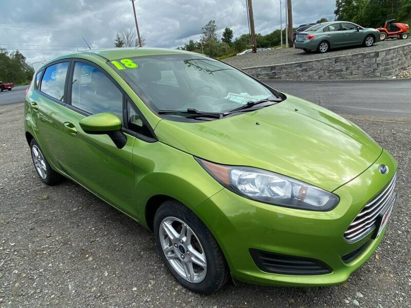 2018 Ford Fiesta for sale at ALL WHEELS DRIVEN in Wellsboro PA