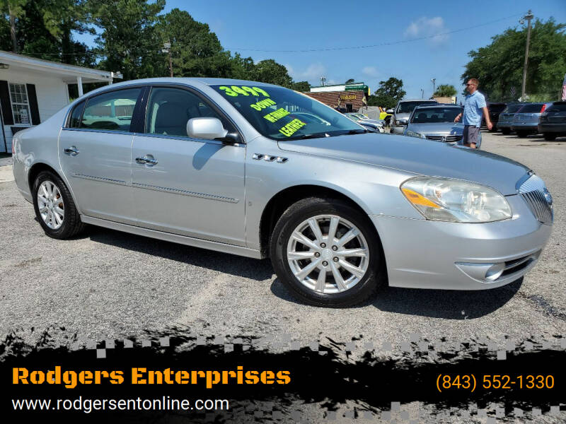 2010 Buick Lucerne for sale at Rodgers Enterprises in North Charleston SC