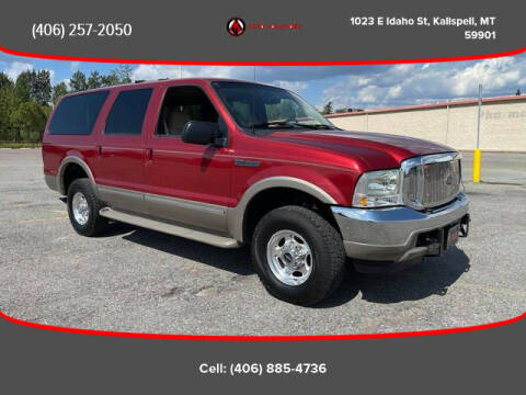 2002 Ford Excursion for sale at Auto Solutions in Kalispell MT