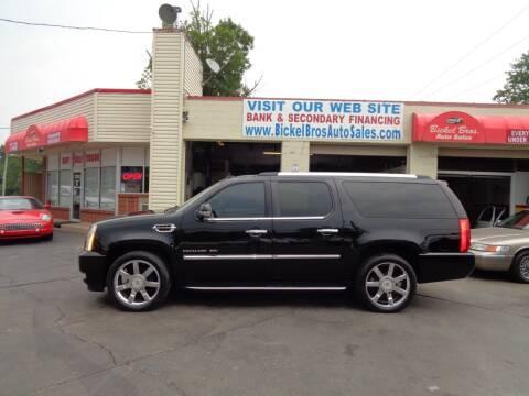 2011 Cadillac Escalade ESV for sale at Bickel Bros Auto Sales, Inc in Louisville KY