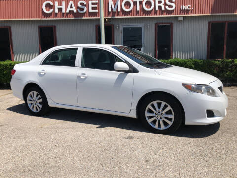 2009 Toyota Corolla for sale at Chase Motors Inc in Stafford TX